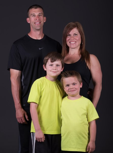 About Titanium Fitness - Chuck, Diana Beckham & Family